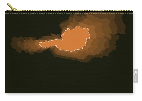 Austria Radiant Map II Carry-all Pouch