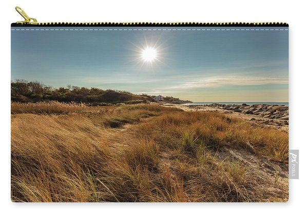 Autumn At The Beach Cape Cod Carry-all Pouch