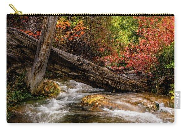 Autumn Dogwoods Carry-all Pouch