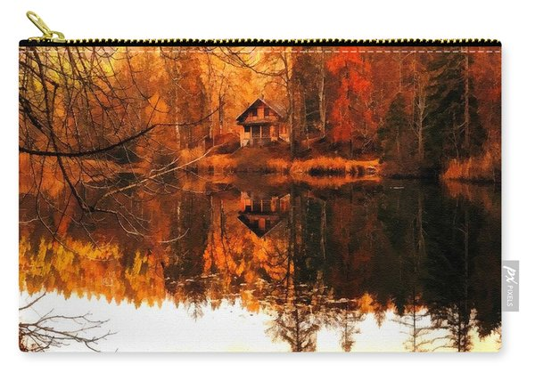 Autumn Dreams Reflected L B Carry-all Pouch