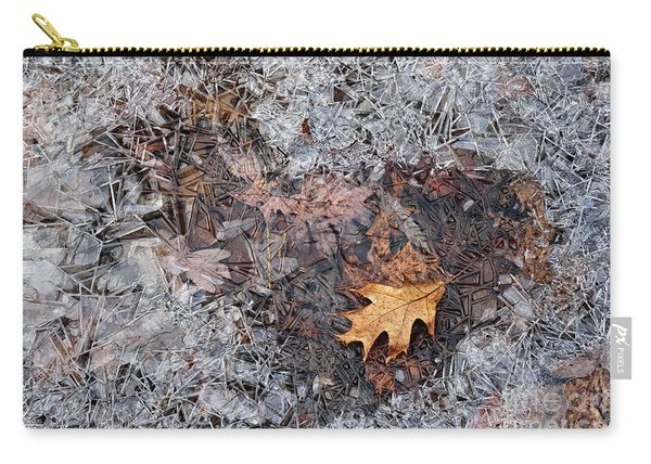 Autumn Freezing Over Carry-all Pouch