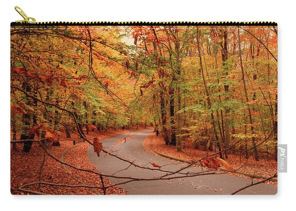 Autumn In Holmdel Park Carry-all Pouch
