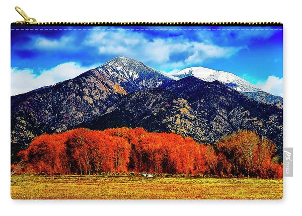 Autumn In Taos New Mexico Carry-all Pouch