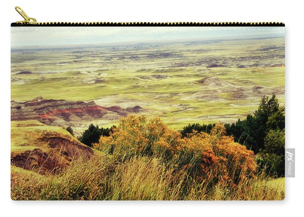Autumn In The Badlands South Dakota Usa Carry-all Pouch