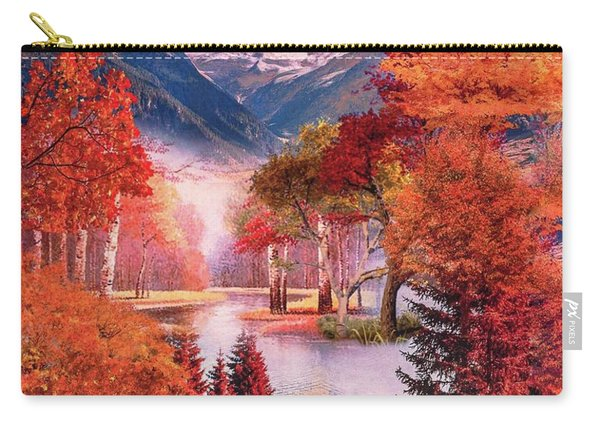 Autumn Landscape 1 Carry-all Pouch