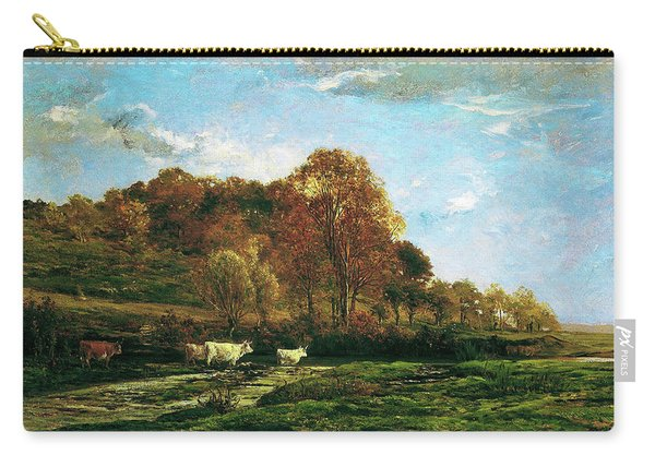 Autumn Landscape - Digital Remastered Edition Carry-all Pouch