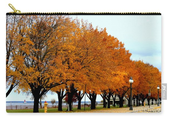 Autumn Leaves In Menominee Michigan Carry-all Pouch