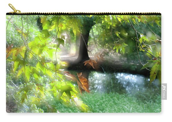 Autumn Leaves In The Morning Light Carry-all Pouch