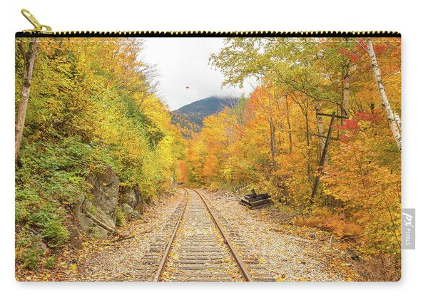 Autumn On Crawford Notch Railway Carry-all Pouch