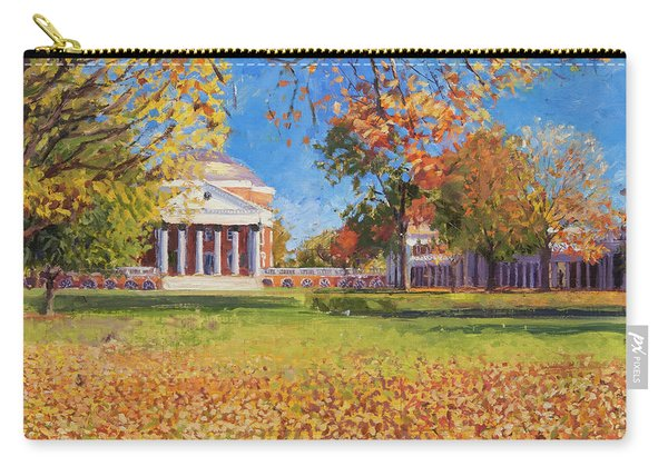 Autumn On The Lawn Carry-all Pouch