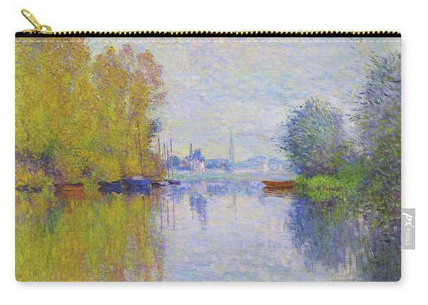 Autumn On The Seine, Argenteuil - Digital Remastered Edition Carry-all Pouch