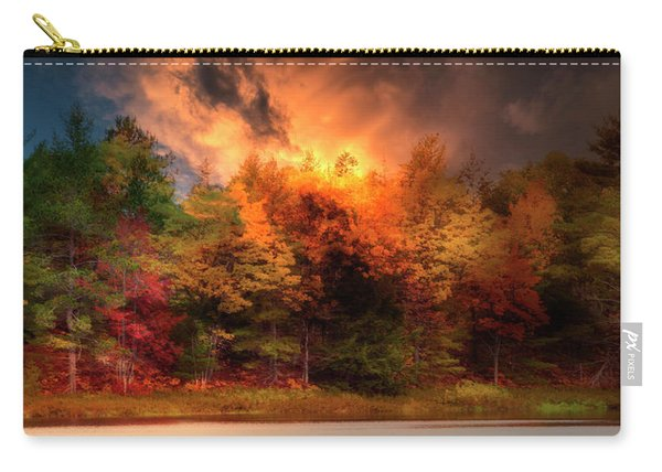 Autumn On The Tahquamenon River Carry-all Pouch