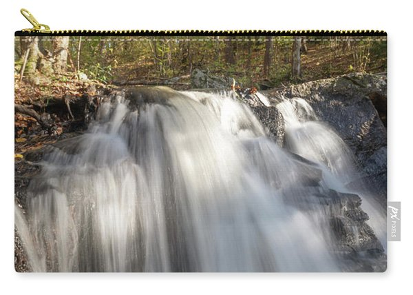 Carry-all Pouch featuring the photograph Autumn - Secret Waterfall 3 by Brian Hale
