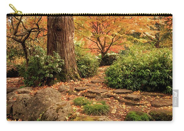 Autumn Stream In Lithia Park Carry-all Pouch