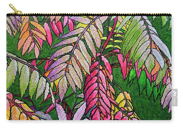 Autumn Sumac Carry-all Pouch