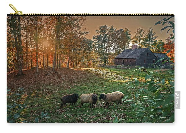 Autumn Sunset At The Old Farm Carry-all Pouch