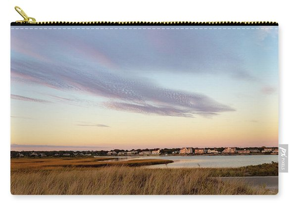 Autumn Sunset At West Dennis Beach Cape Cod Carry-all Pouch