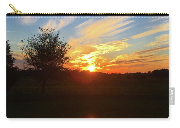 Autumn Sunset Carry-all Pouch