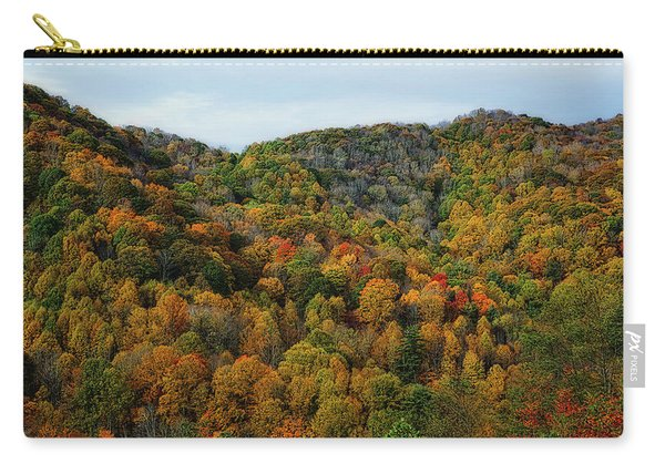 Autumn View Of The Bald Mountains  Carry-all Pouch