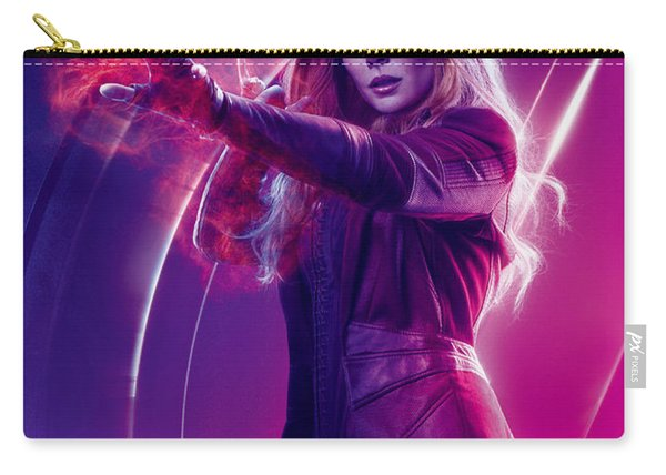 Avengers Scarlet Witch  Marvel Cinematic Universe Carry-all Pouch