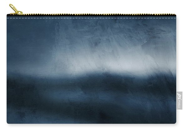 Azul 1- Art By Linda Woods Carry-all Pouch
