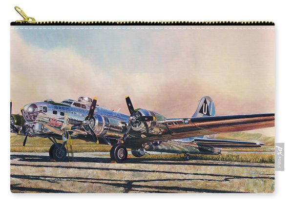 B-17g Sentimental Journey Carry-all Pouch