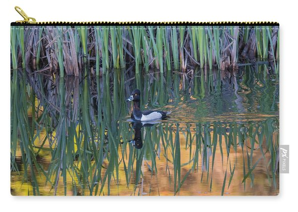 Carry-all Pouch featuring the photograph B32 by Joshua Able's Wildlife