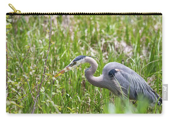 Carry-all Pouch featuring the photograph B40 by Joshua Able's Wildlife