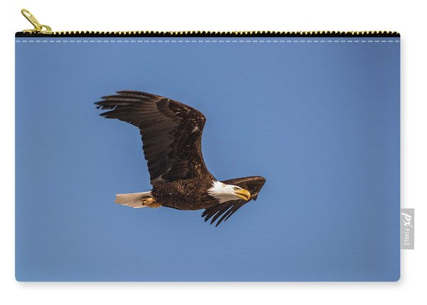 Carry-all Pouch featuring the photograph B8 by Joshua Able's Wildlife
