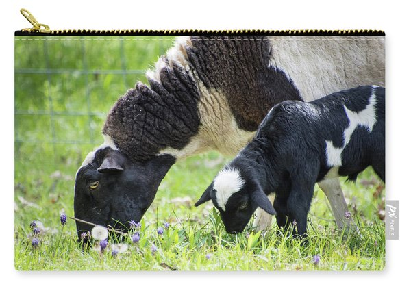 Baba And Pepe Grazing Carry-all Pouch