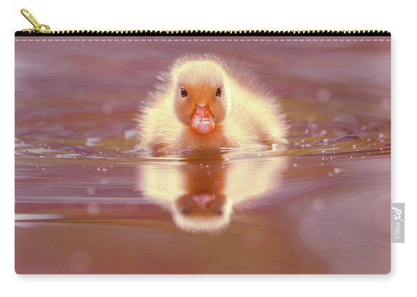Baby Animal Series - Baby Duckling Carry-all Pouch