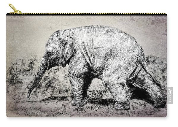 Baby Elephant Walk Carry-all Pouch
