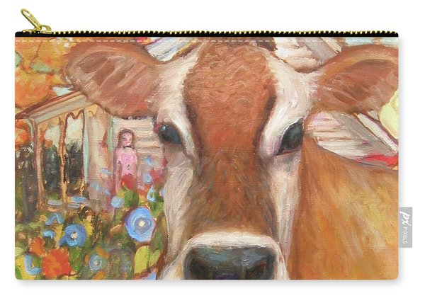 Backyard Cow Carry-all Pouch