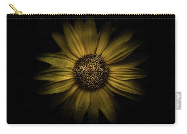 Backyard Flowers 18 Color Version Carry-all Pouch