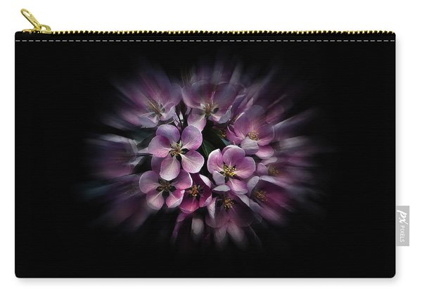 Backyard Flowers 47 Color Flow Version Carry-all Pouch