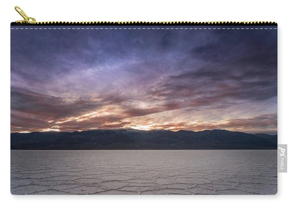 Badwater Basin Salt Flats Death Valley California Carry-all Pouch