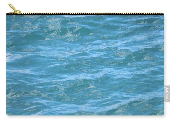 Bahamas Blue Carry-all Pouch
