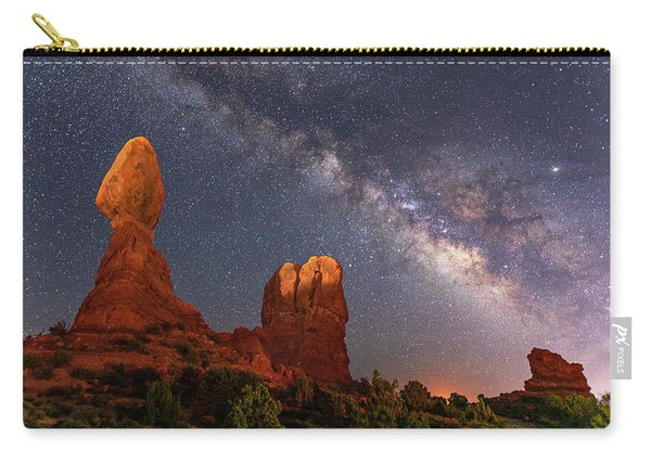 Balanced Rock Night Carry-all Pouch