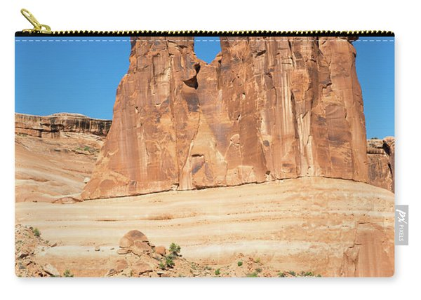 Balanced Rocks In Arches Carry-all Pouch