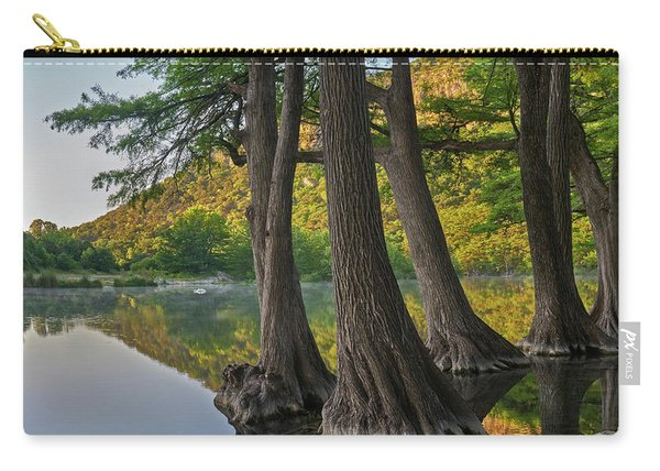 Bald Cypress Trees In River, Frio Carry-all Pouch