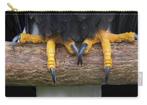 Bald Eagle Talons Carry-all Pouch