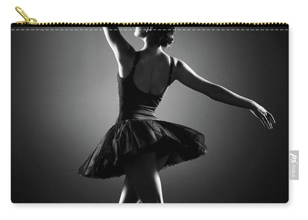 Ballerina Dancing Carry-all Pouch