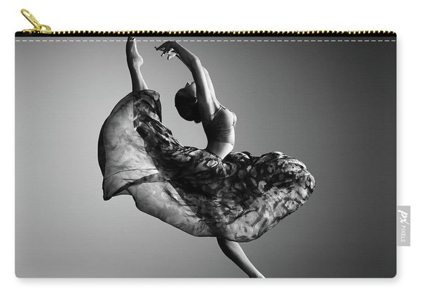 Ballerina Jumping Carry-all Pouch