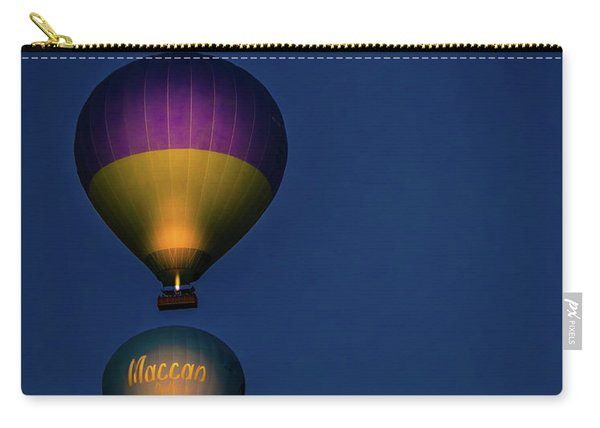 Balloons And The Moon Carry-all Pouch