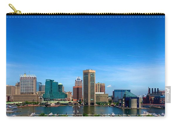 Baltimore Skyline Carry-all Pouch