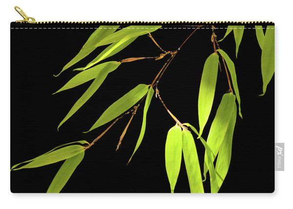 Bamboo Leaves 0580a Carry-all Pouch