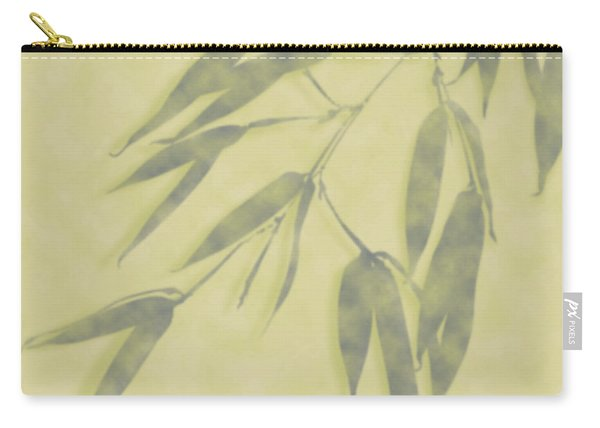 Bamboo Leaves 0580b Carry-all Pouch
