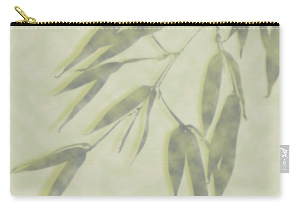 Bamboo Leaves 0580c Carry-all Pouch
