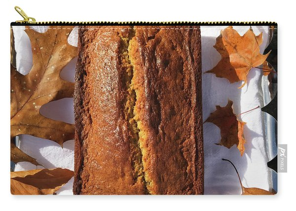Banana Bread With Rum, Ginger And White Whole Wheat Carry-all Pouch