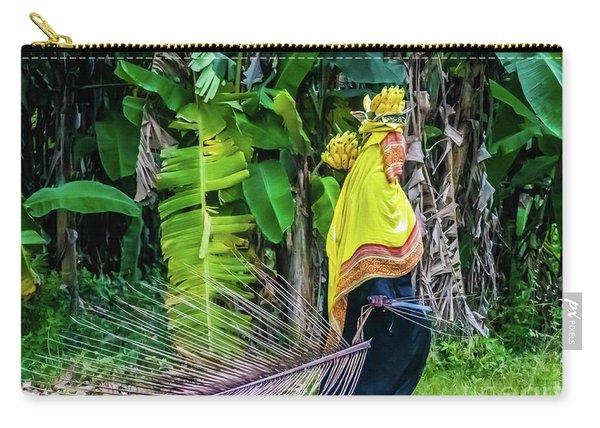 Banana Harvest, Zanzibar, Tanzania Carry-all Pouch